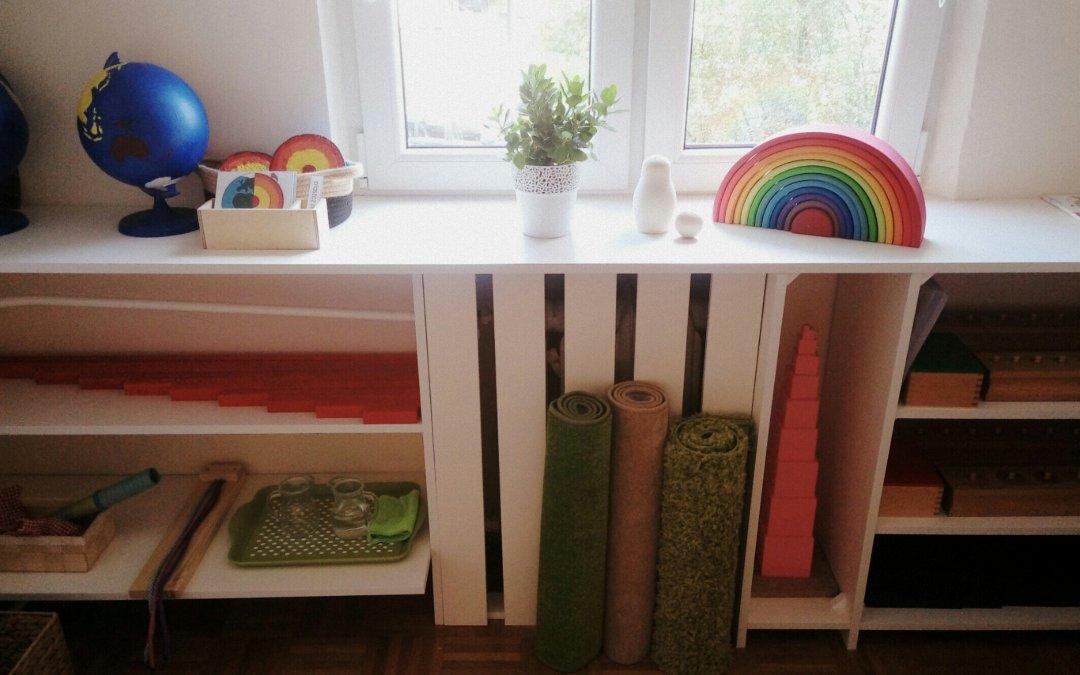 Pomoce Montessori w domu