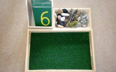 Cyfry natrawie – matematyka Montessori wpraktyce