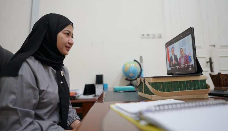 Bunda PAUD Bangkalan Hadiri Sosialisasi Pemetaan PKP PAUD HI Tahun 2021