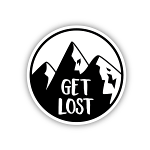 get, lost, get lost, adventure, mountain, black, camping