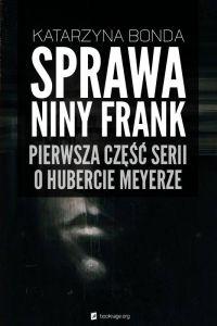 """Okładka książki """"Sprawa Niny Frank"""""""