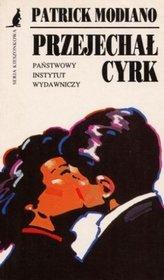 """okładka książki """"Przejechał cyrk"""""""