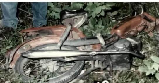 Motorower zamordowanego