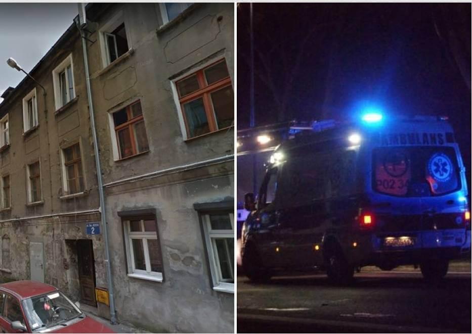 Mirosław K. wypchnął dziewczynę z okna kamienicy w Wałbrzychu