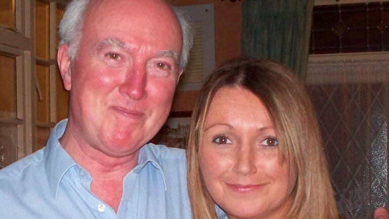 Claudia Lawrence z ojcem / Sky News