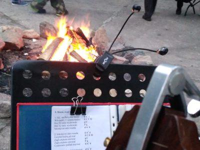 Koncert akustyczny w Pięknym brzegu k. Węgorzewa