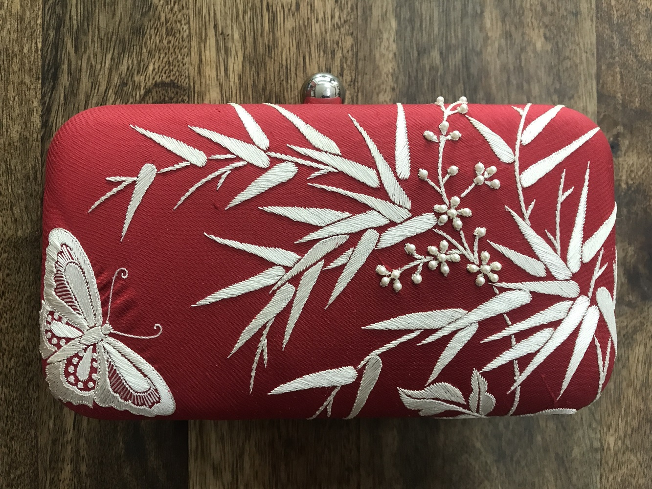 Bamboo With Butterfly Clutch