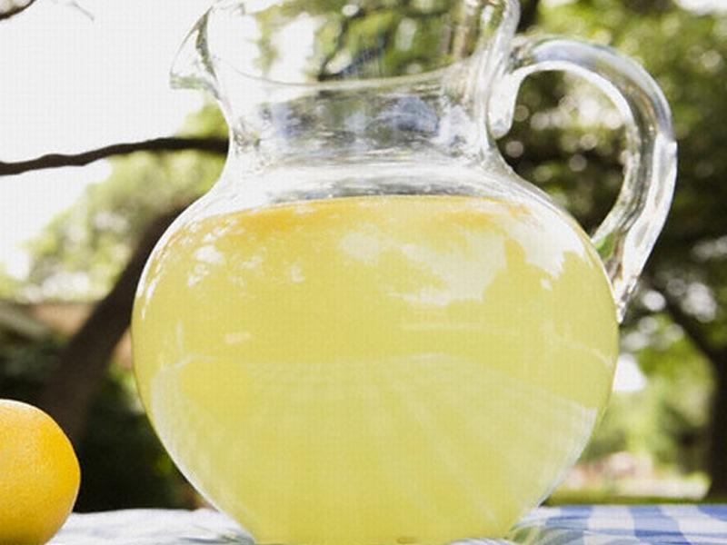 Қайың-лимон шырыны