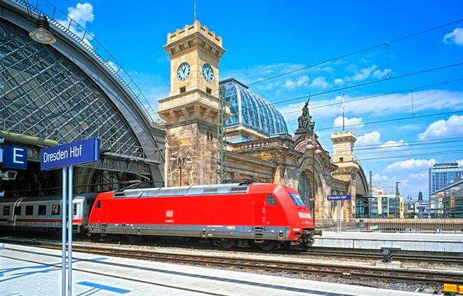 Поезд Прага – Дрезден