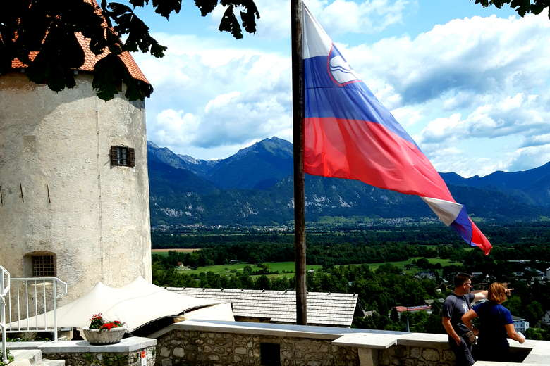 Bled castle is a Slovenian attraction
