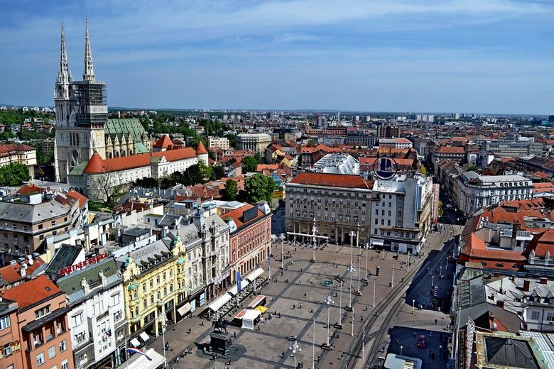 Zagreb Jelačić main square