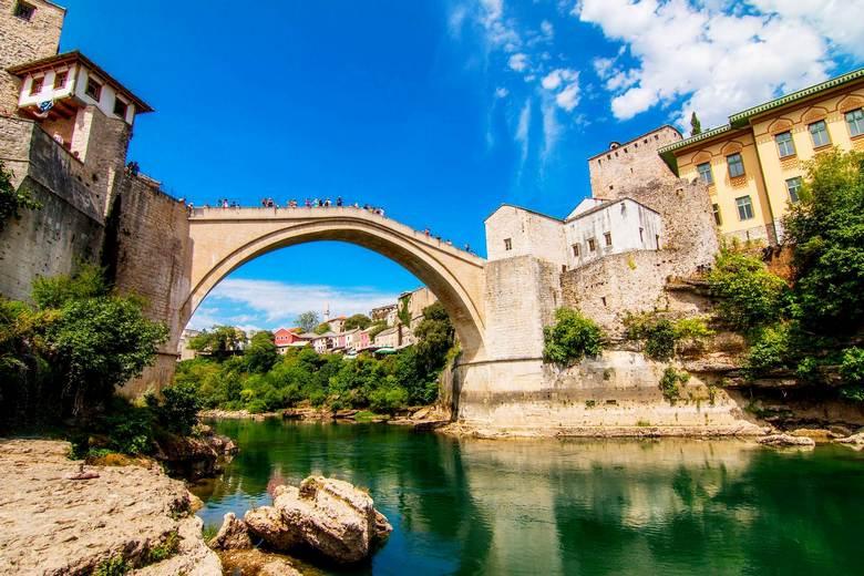 Mostar bridge UNESCO heritage