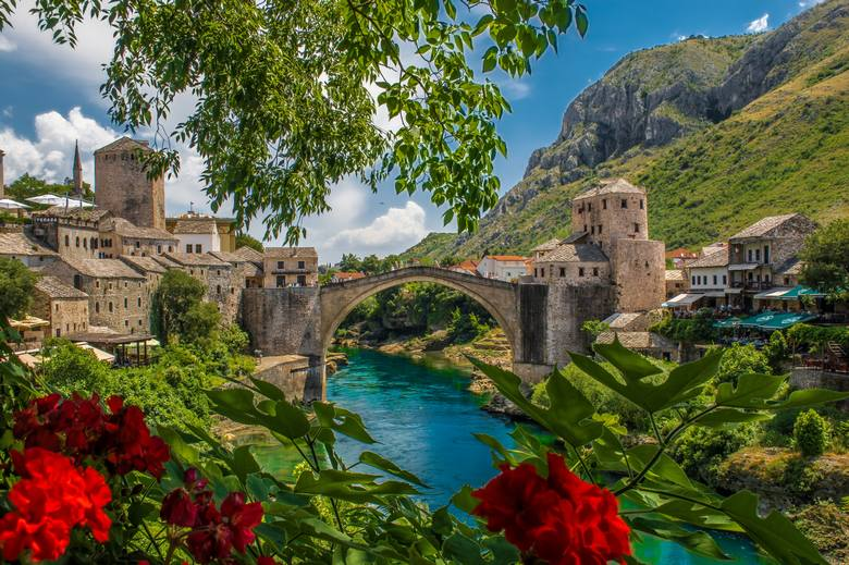 Mostar city is a part of Tito Tour