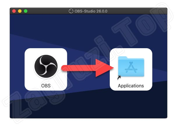 Mac上的OBS安装