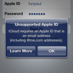 Enable iCloud for old Unsupported Apple ID