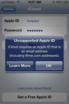 iPhone iCloud error by Paul Zagoridis