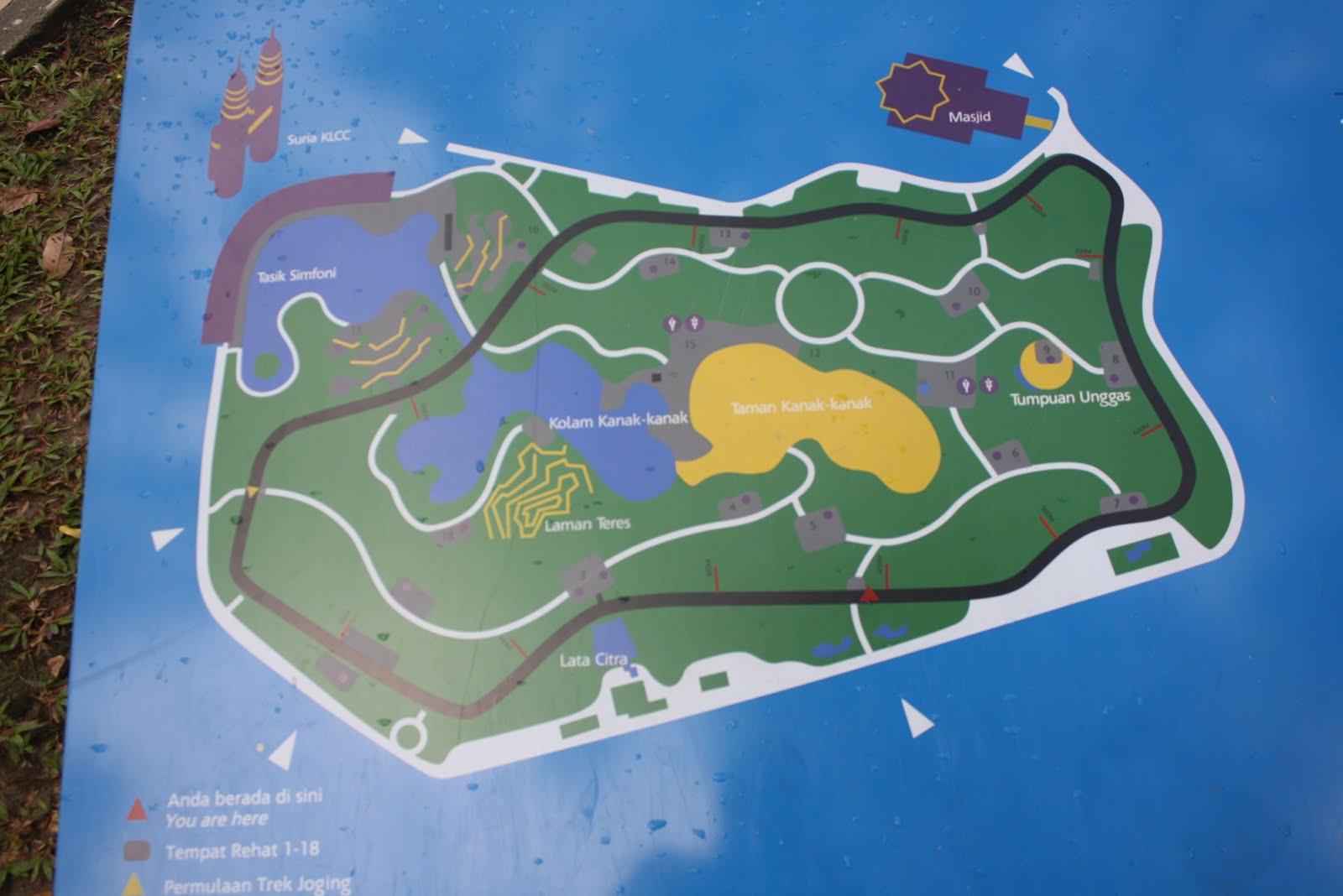 klcc park map The world widest