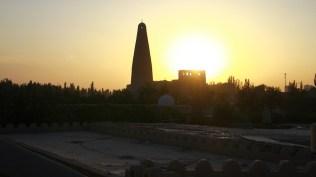 Afghan minaret in Xinjiang