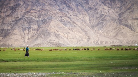 the life under the shadow of Pamir