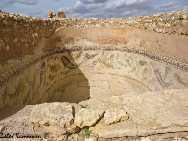 Thermes du quartier byzantin