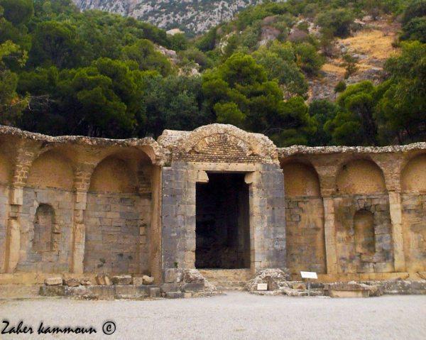 Le temple des eaux Zaghouan