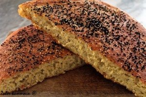 خبز القمح المنزلي