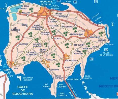 djerba_routes