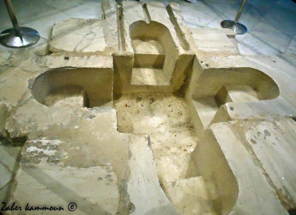 baptistere tunisie حوض تعميد