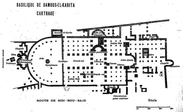 Le plan de la basilique
