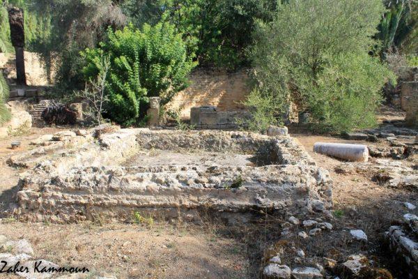 Édifice à pièce trifoliée Carthage