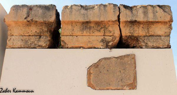 Corniche de la muraille punique Carthage السور البوني قرطاج