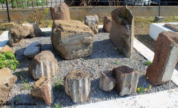 Des fragments d'architeture punique Carthage العمارة البونية