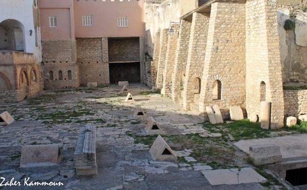 Les citernes romaines kef الخزانات الرومانية الكاف