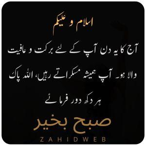 Aaj Ka Din Barkat o Afiyat Wala Ho