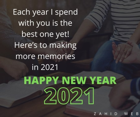 Memories of Happy New Year Wishes