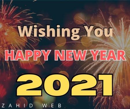 Wishing You Happy New Year 2021
