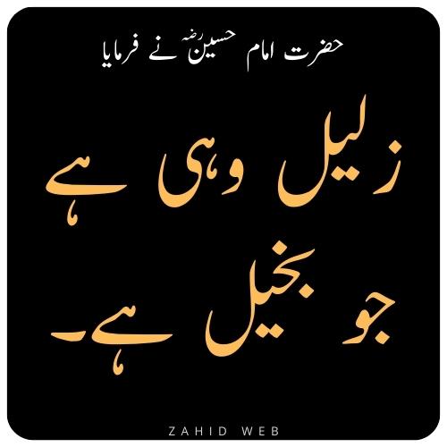 Zaleel Wahi Hai Jo Bakheel Hai