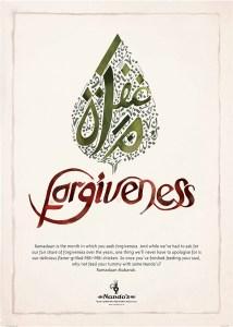 Ramadan: Forgiveness