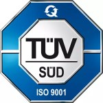 TÜV Süd ISO 9001 Zertifizierung