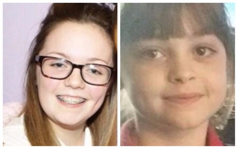 سافي روز روسوس 8 أعوام، و جورجينا كالاندر، 18 عامًا أضحايا تفجير مانشستر