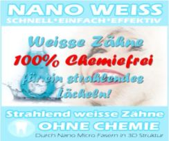 Zahnbleaching ohne Chemie