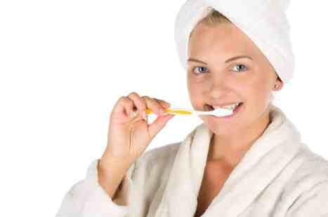 so werden die Zähne sauber