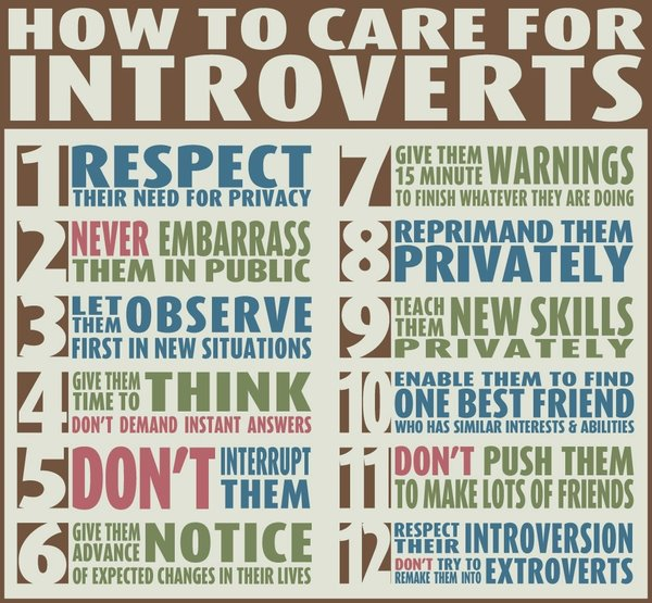 Introverts: Creative Quiets