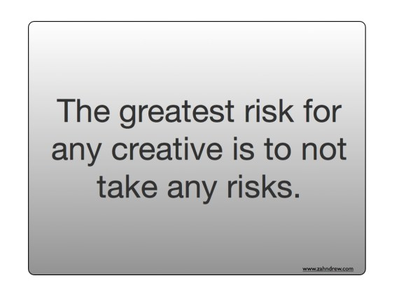 creativity risks