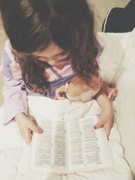 She is so curious about God