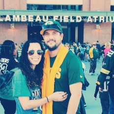 Packer Game with my love!
