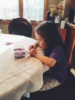 Crafting away