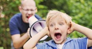 رسائل تربوية - الصراخ على الأطفال
