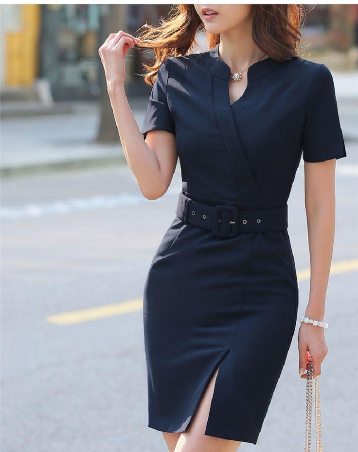 bae873e86d3d7d870bbcec21489ae32f--vestido-formal-business-women