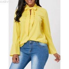 blusa-de-la-manga-de-la-llamarada-del-cuello-del-arco-en-amarillo-xl-goimkrt1-2768-240x240_0
